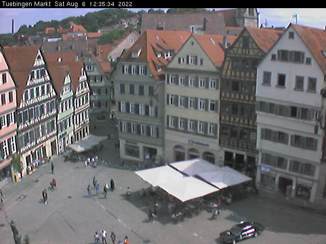 Tübingen City Center, Marktplatz